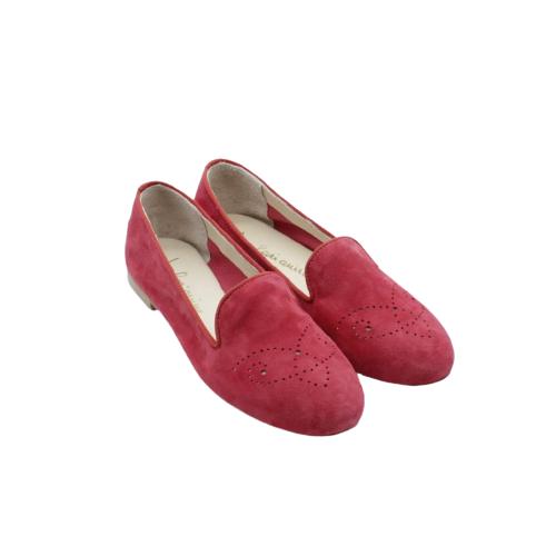 Le Larianine - Ballerina -camoscio rosso